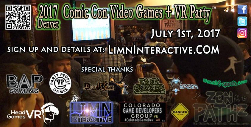 Denver Comic Con Party 2017