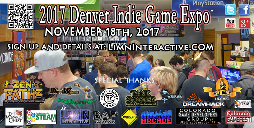Denver Indie Game Expo 2017