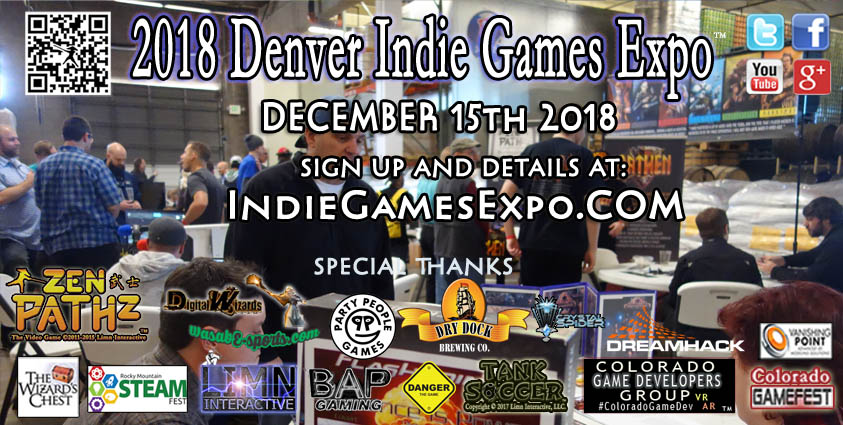 See some of the top games of 2018 and meet with Colorado game companies