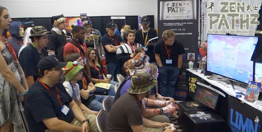 ZEN PATHz Denver eSports tournament at the 2016 Denver Comic Con.
