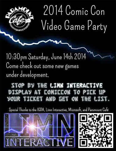 2014 Denver ComicCon Video Games Party